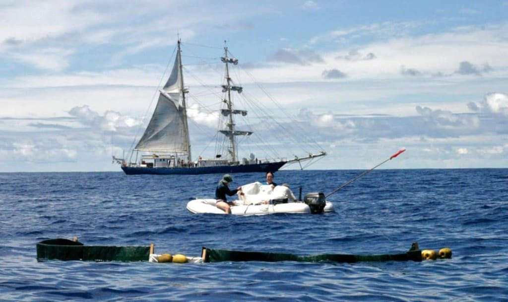 Project Kaisei - Vessel ocean cleaning