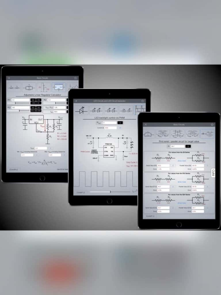 Top 5 iOS apps for electronics engineers