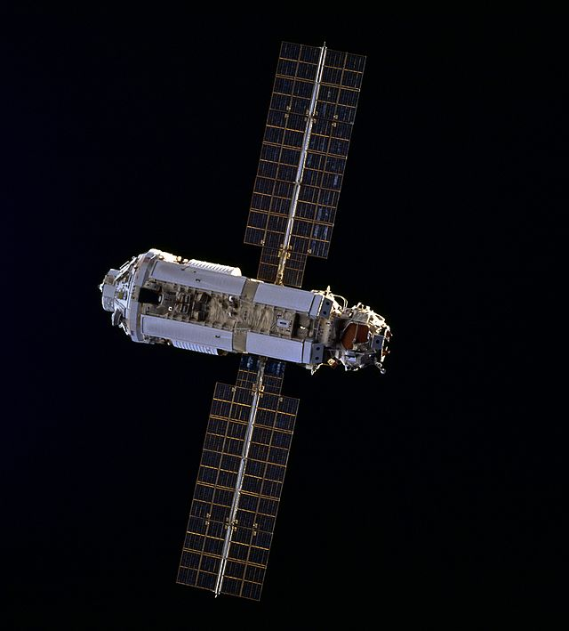 Zarya module - International Space Station construction