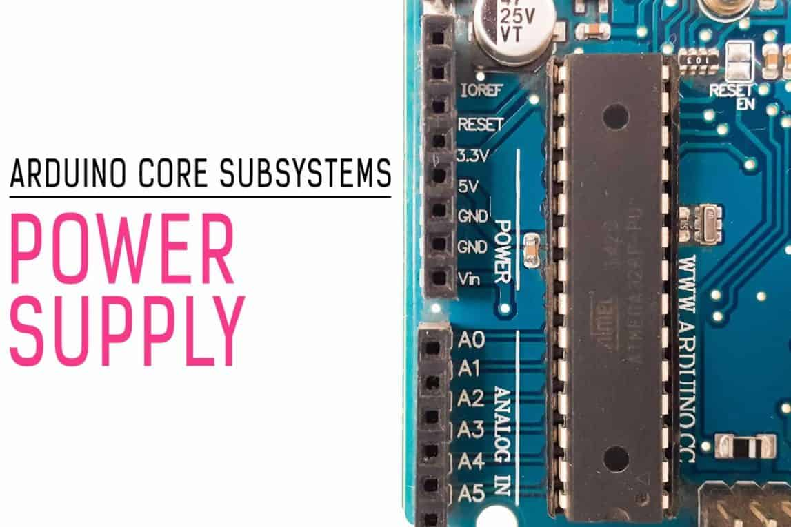 Core Subsystems Arduino Uno Power Supply-min