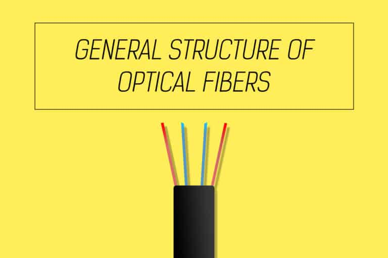 General structure of optical fibers