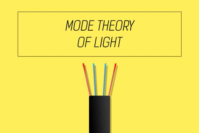 Optical fiber communication basics - mode theory of light