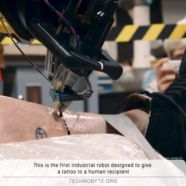 this robot can give you a tattoo amazing engineering fun fact