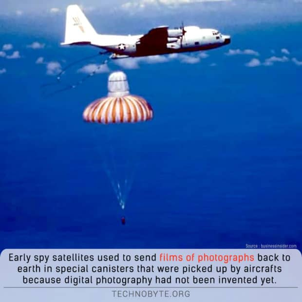 amazing fact about the corona satellites spy program