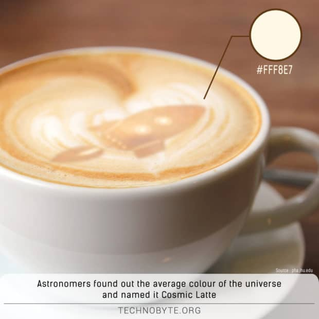 cosmic latte universe's color