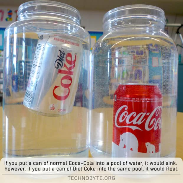 interesting fact about diet coke
