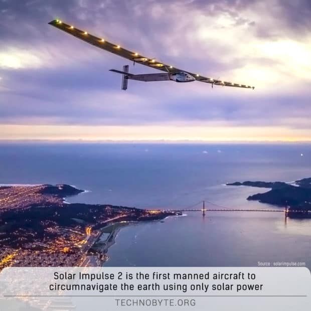 Solar Impulse 2 fact