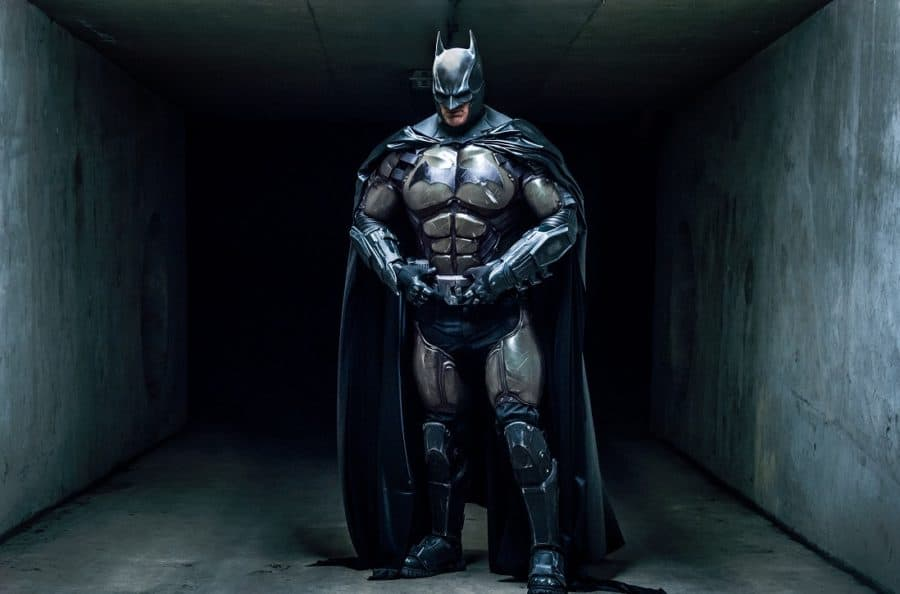 3D printed Batman suit with actual working gadgets