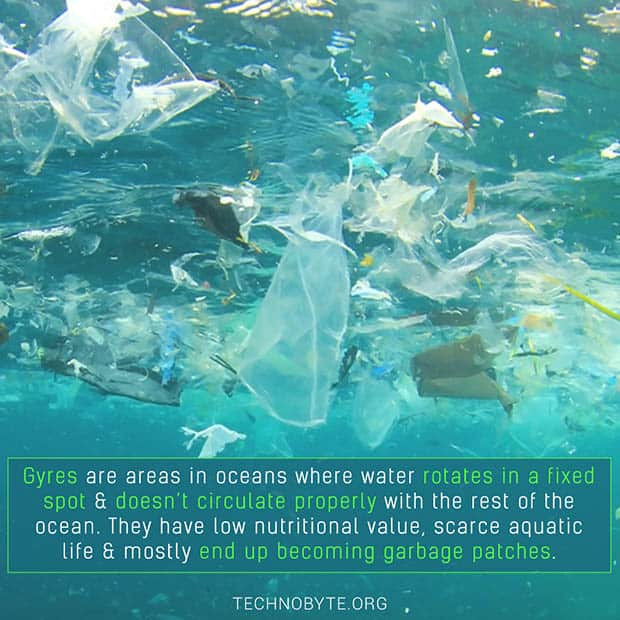 Gyre - Help create trash vortex FI interesting facts about science