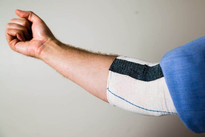 artificial muscles wearable sleeve