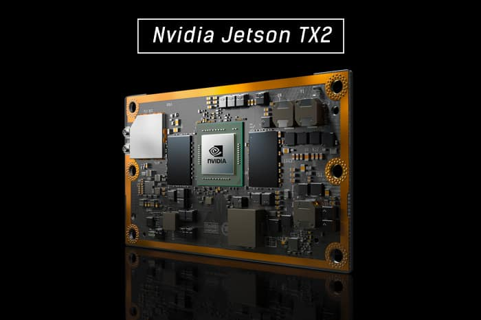 NVIDIA's Jetson TX2 is a powerful board for local on-board Machine
