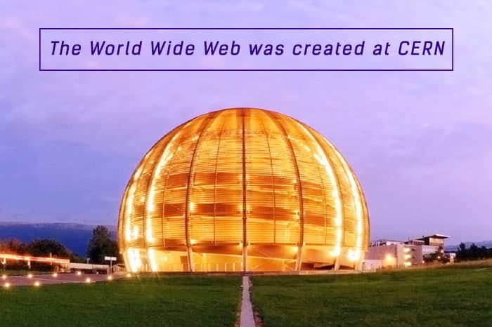 World Wide Web was invented at CERN fact featured image