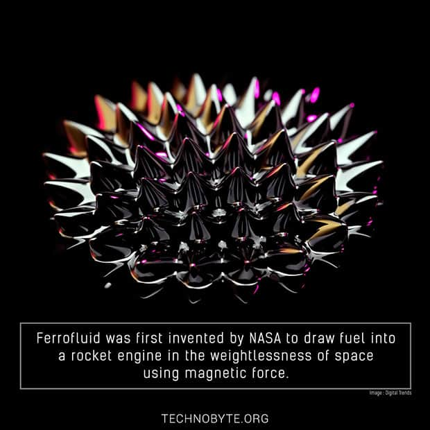 ferrofluid interesting fact
