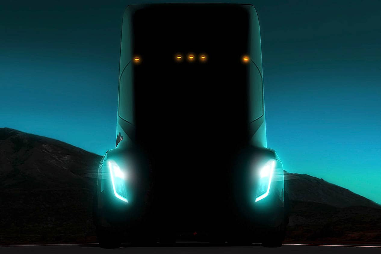 Tesla's electric semi-truck 2017 featured image