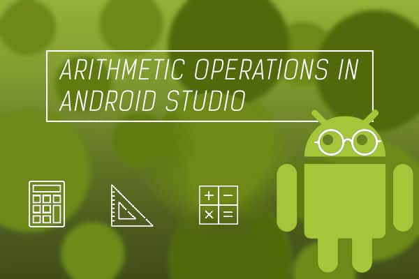 arithmetic-operation in android studio