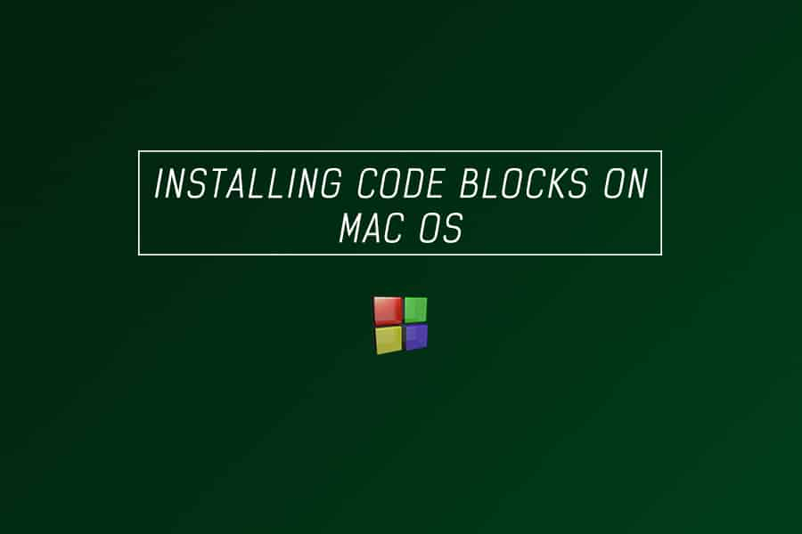 C programming - installing code blocks on mac os x