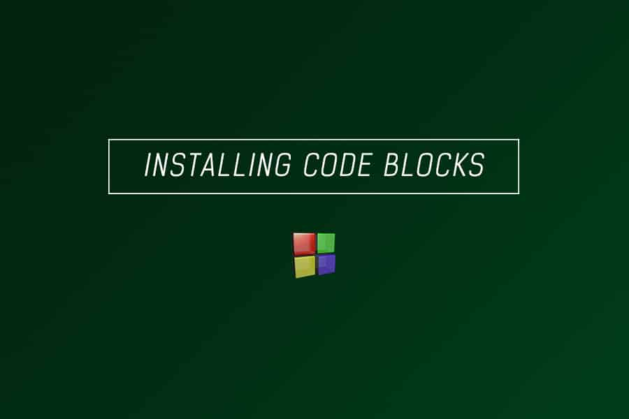 data structures with C - installing codeblocks and first C program