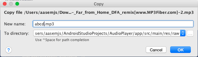 Using MediaPlayer to play an audio file in your Android app