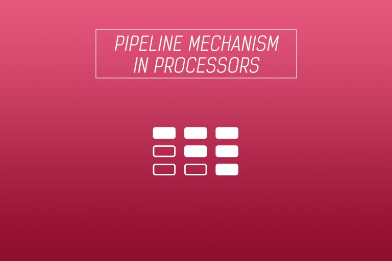 pipeline system mechanism in processors