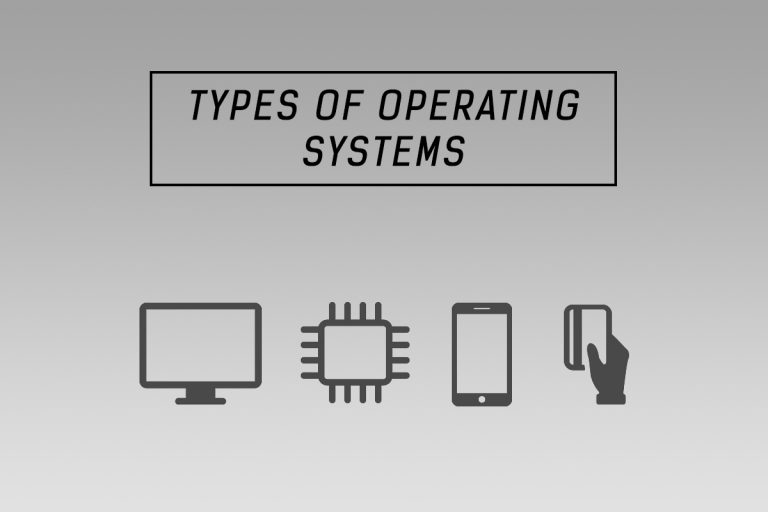 different types of operating systems os