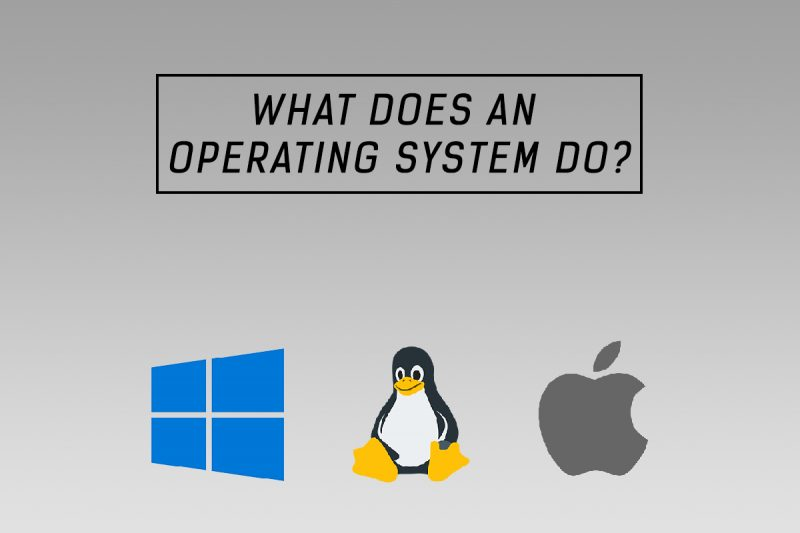 what does an os operating system do
