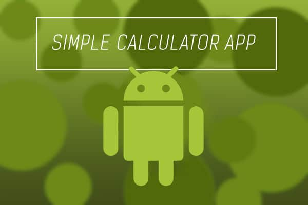 simple calculator full tutorial