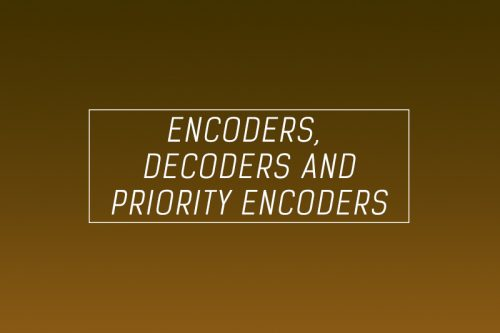 Encoder decoder and priority encoder