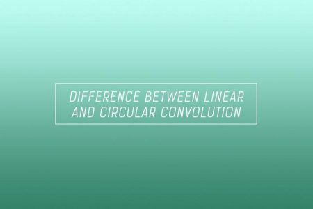 Difference between linear and circular convolution