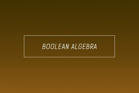boolean algebra and boolean logic rules