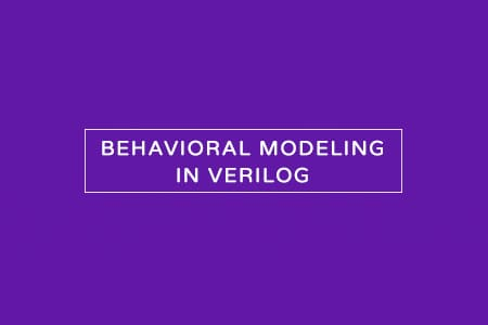 behavioral modeling in verilog hdl