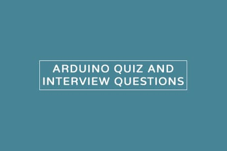 arduino quiz mcqs and interview questions