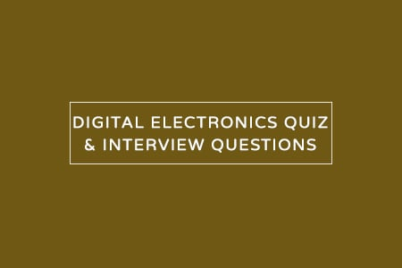 digital electronics quiz and mcqs