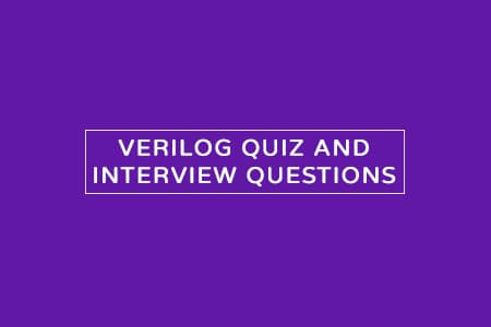 verilog quiz mcqs and interview questions